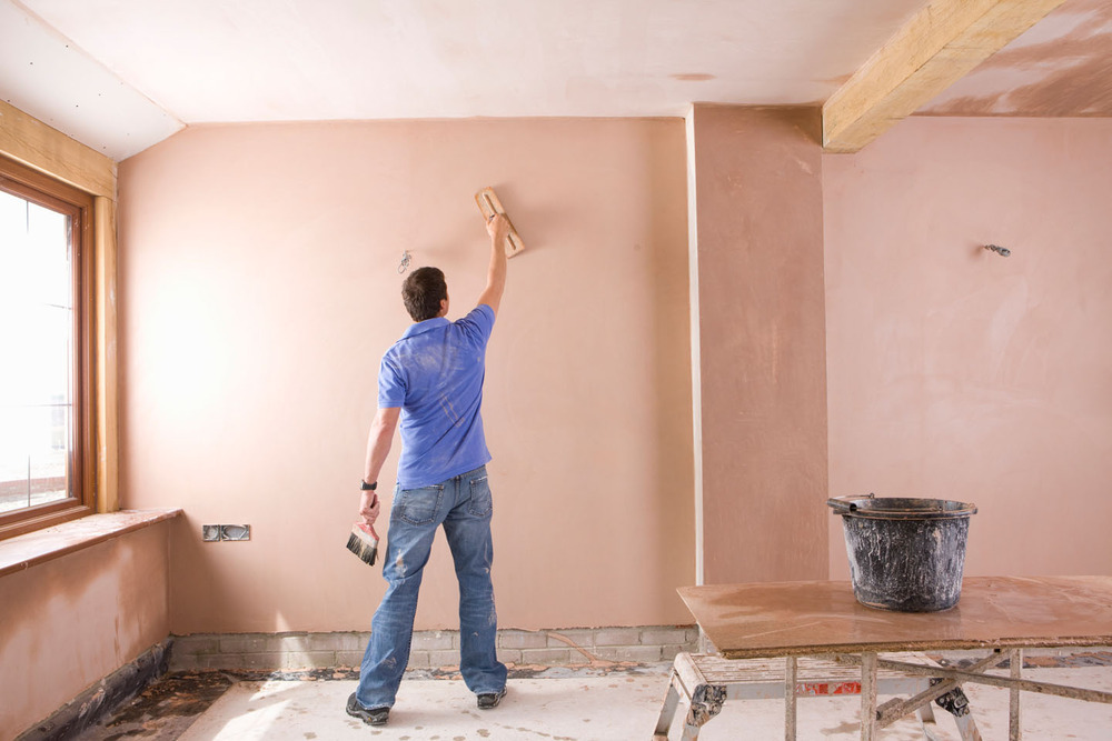 Our plasterer in Newhaven specialises in traditional wet plastering